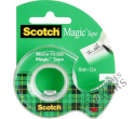 Līmlente Scotch Magic ar turētāju 810 19mm x 7.5m